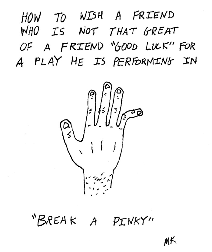 Break a Pinky